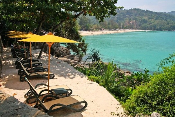 Побережье отеля Амбассадор в Тайланде