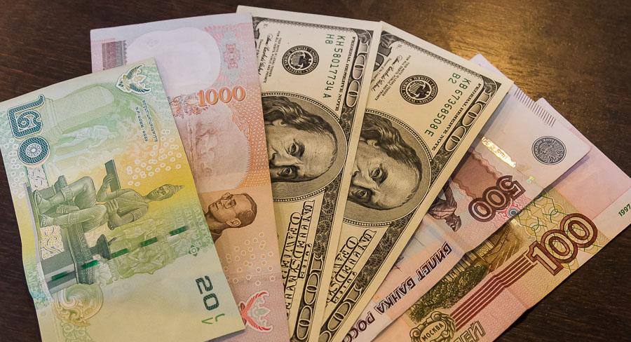 С какой валютой лучше ехать в Тайланд
