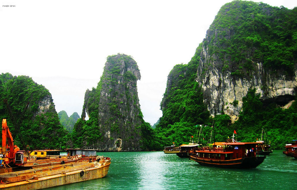 Бухта Халонг. Вьетнам