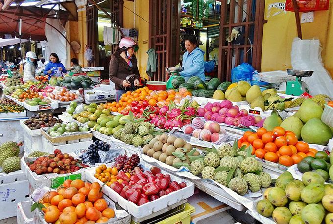 Стоимость фруктов во Вьетнаме
