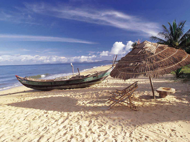 Белые пляжи на островах