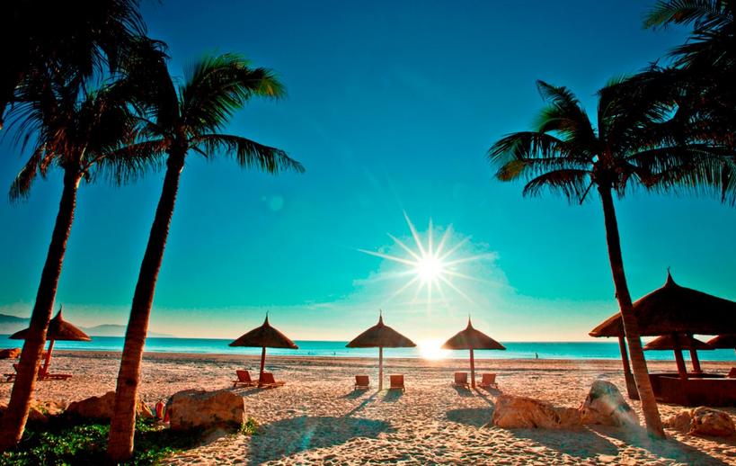 Где во Вьетнаме нет волн. Спокойные пляжи Вьетнама